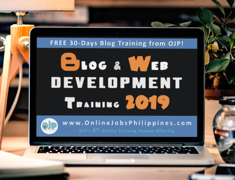 Free Blog and Web Development Training 2019