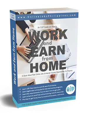OJP Work and Earn From Home Full Guide eBook